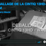 Cintiq 13HD, déballage !