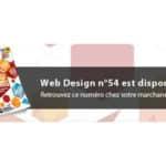 Web Design n°54 est disponible !