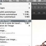 TUTO – Réduire ses photos avec un droplet Photoshop