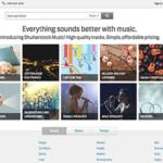 Ecoutez et découvrez le nouveau site de musique de Shutterstock