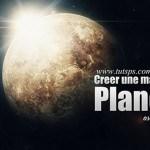 Réalisez une planète sur Photoshop CC !