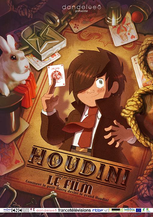 HOUDINI-AFFICHE