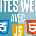 Création de sites web avec CSS, HTML et JavaScript