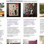 Passionnés de graphisme, partagez vos livres grâce à webibli