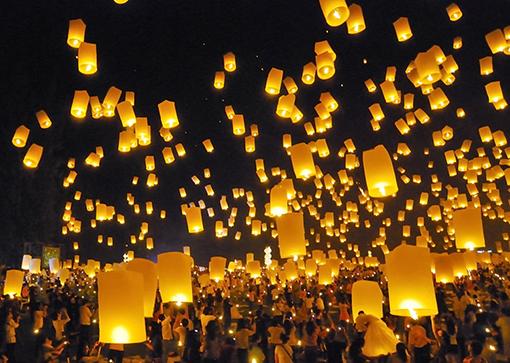 Firework Festival in Chiangmai Thailand par FW Studio