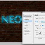 TUTO // Comment créer une enseigne lumineuse dans Photoshop