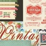 Ressources pour des créations vintages