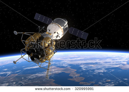 stock-photo-interplanetary-space-station-in-space-d-scene-320995991
