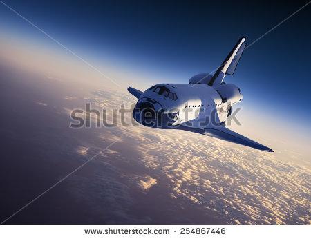 stock-photo-space-shuttle-landing-d-scene-254867446
