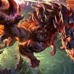 12 superbes dragons