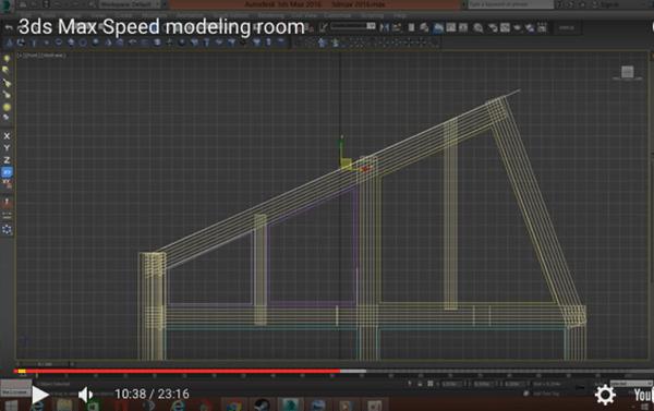 speed modeling 3d