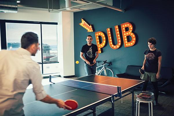 Chez Smashing Ideas, le travail et le divertissement vont de paire.