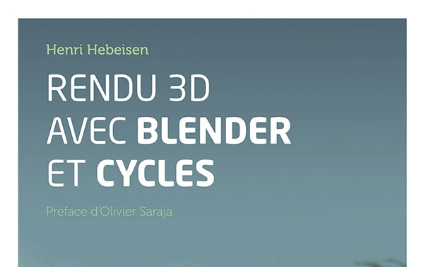 3D rendu avec Blender