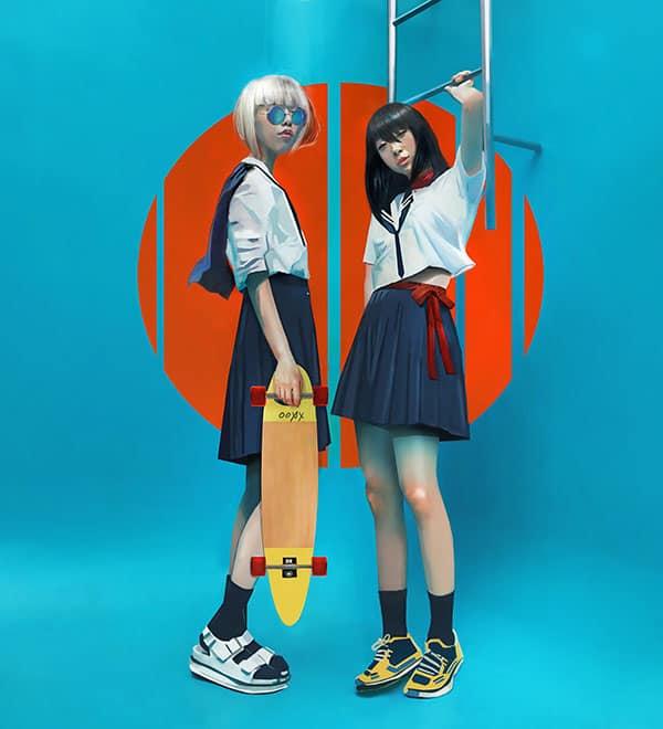 chloe-veillard-school-japonese-girl
