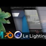 TUTO // Maîtriser les techniques d'éclairage en 3D